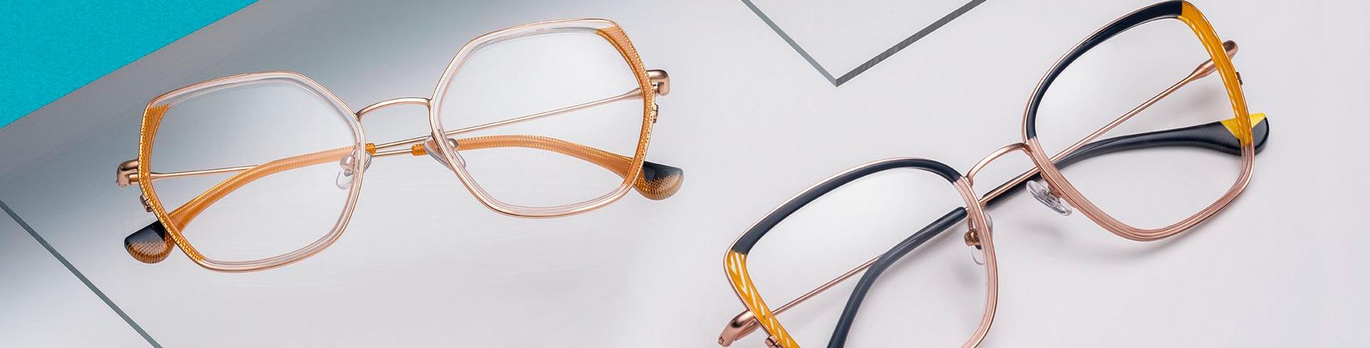 Kevään silmälasimuoti – <br>Pehmeän kulmikasta ja vintagea